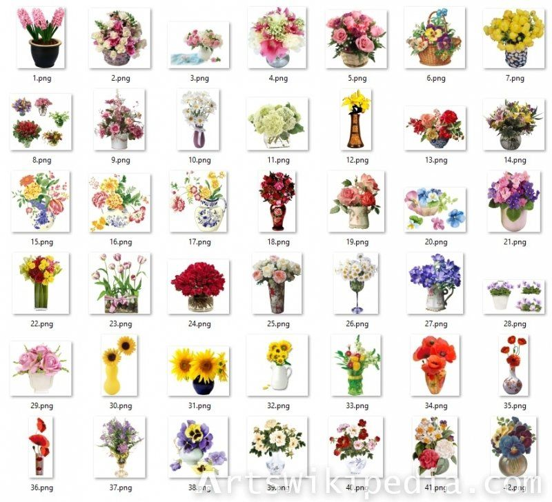 Flowers Vase Cliparta Collection Of 42 Png Image For Flowar Clipart