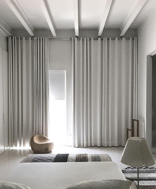 Tdc Spanish Design Tour Visit To La Casa Gandia Blasco Minimalist Curtains Home Curtains Curtains Living Room