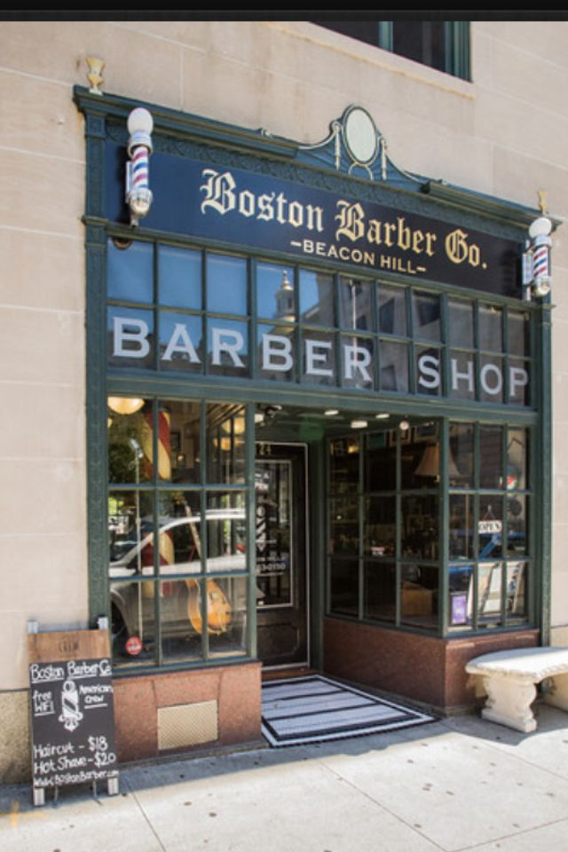 boston barber co nice looking shop the barber shop pinterest barber shop barbershop. Black Bedroom Furniture Sets. Home Design Ideas
