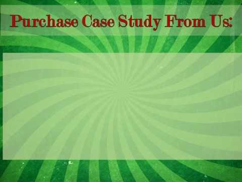 Custom Case Study Writing from Academized