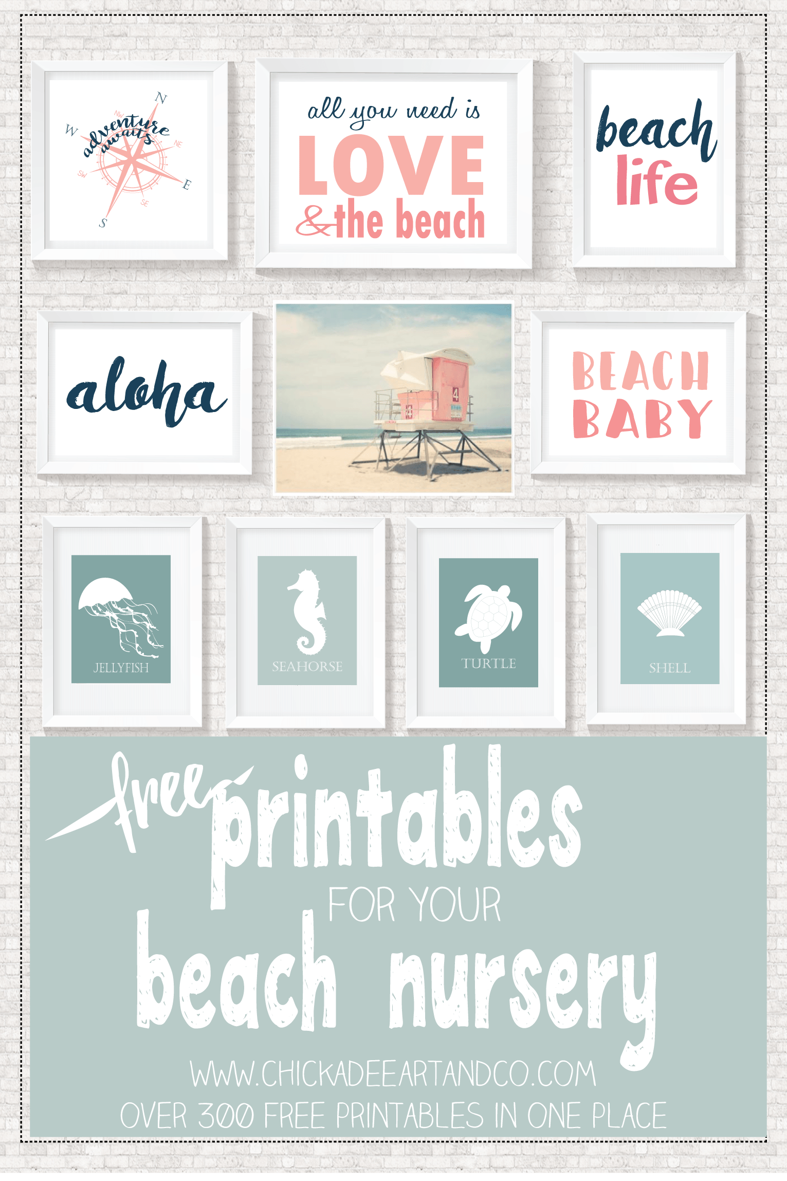 image relating to Printable Beach Pictures known as Beach front Printables Totally free Printables Roundups! Seaside