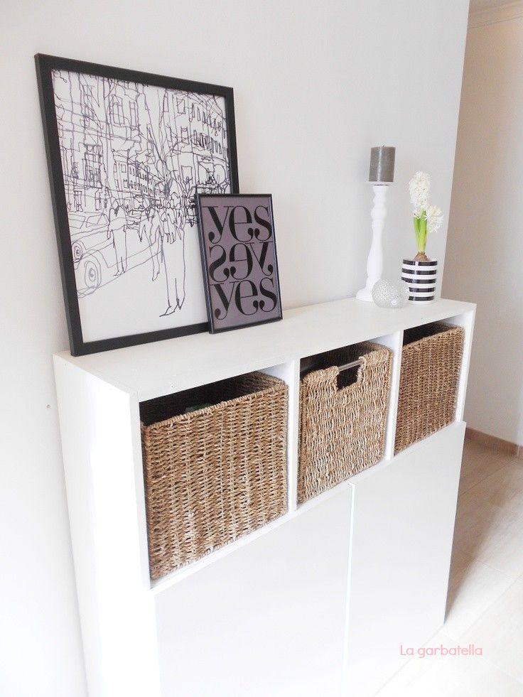mi recibidor nrdico low cost - Ideas Recibidor