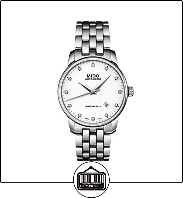 852659cbf540 Mido Baroncelli M86004661 - Reloj para hombres