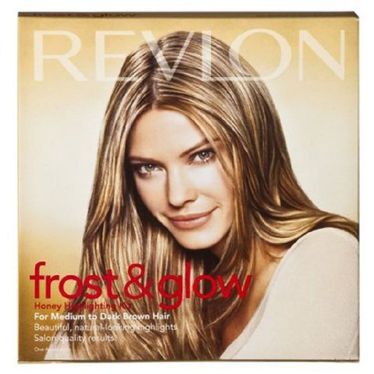Revlon Frost Highlighting Kit Dramatic Brown Beauty Walmart