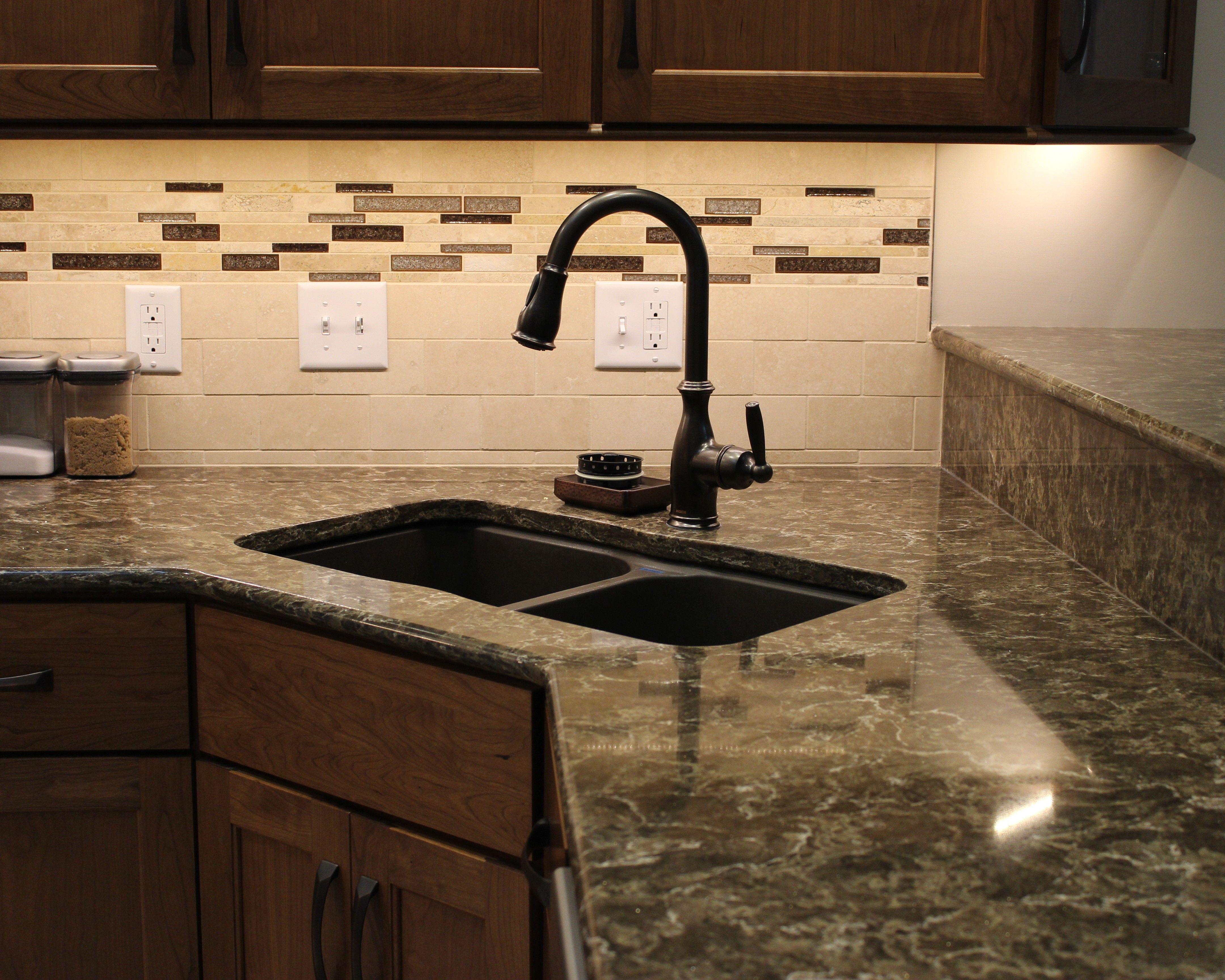 Transitioning A Backsplash Tile Into A Dual Height Peninsula Area Villagehomestores Com Tile Backsplash Custom Benches Tiles