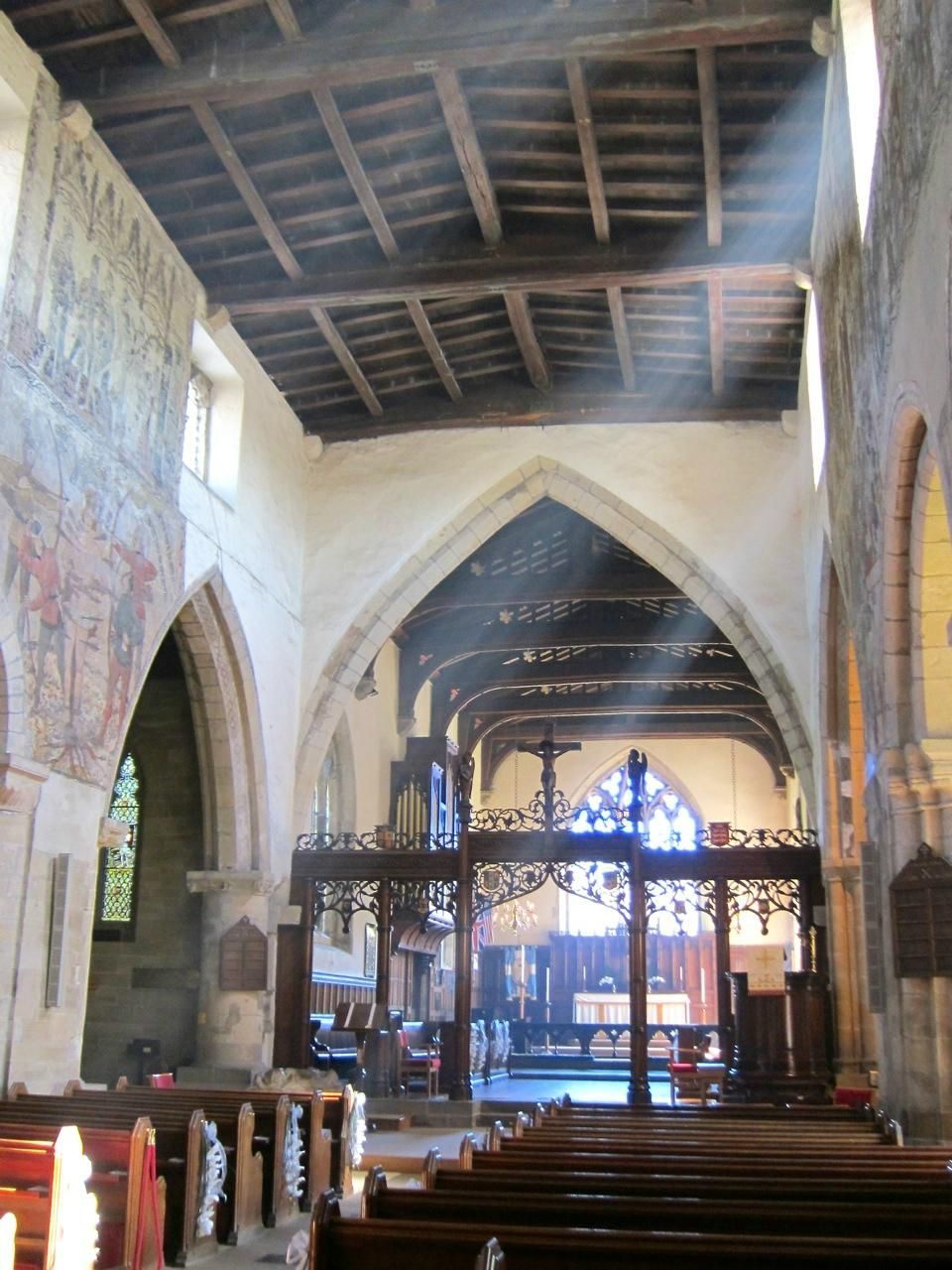 stunning frescoes Review of St Peter & St Paul Church
