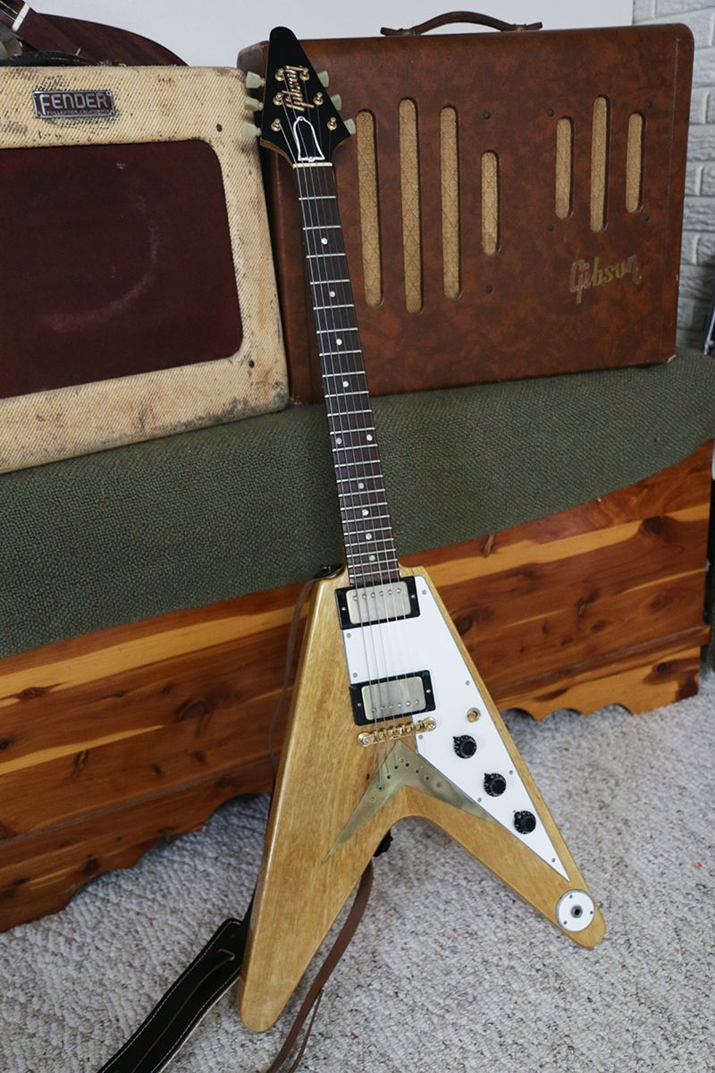 Zoots 58 Gibson Flying V Replica Made By Brian Monty Guitar In Epiphone Firebird Studio Wiring Diagram
