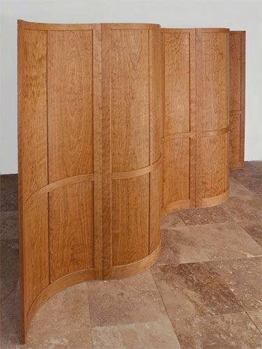 Contemporary Furniture Solid Cherry Room Divider Favorite Spaces