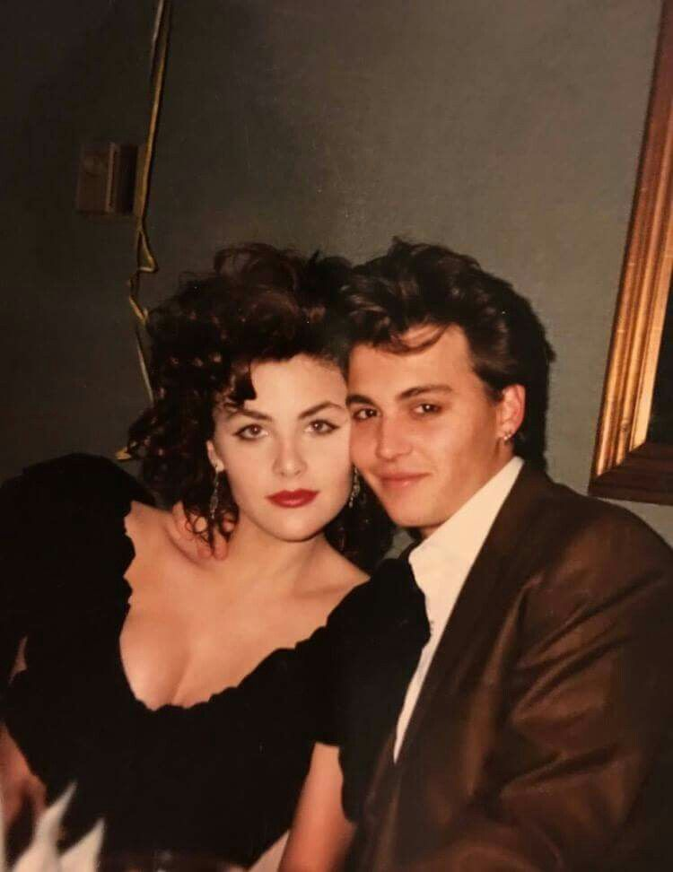 Image result for johnny depp and sherilyn fenn