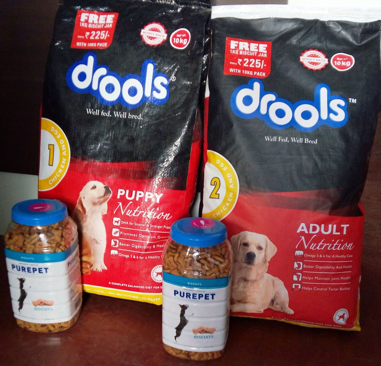 We Now Have Stocks Of Special Promo Bags Of Drools Chicken Egg
