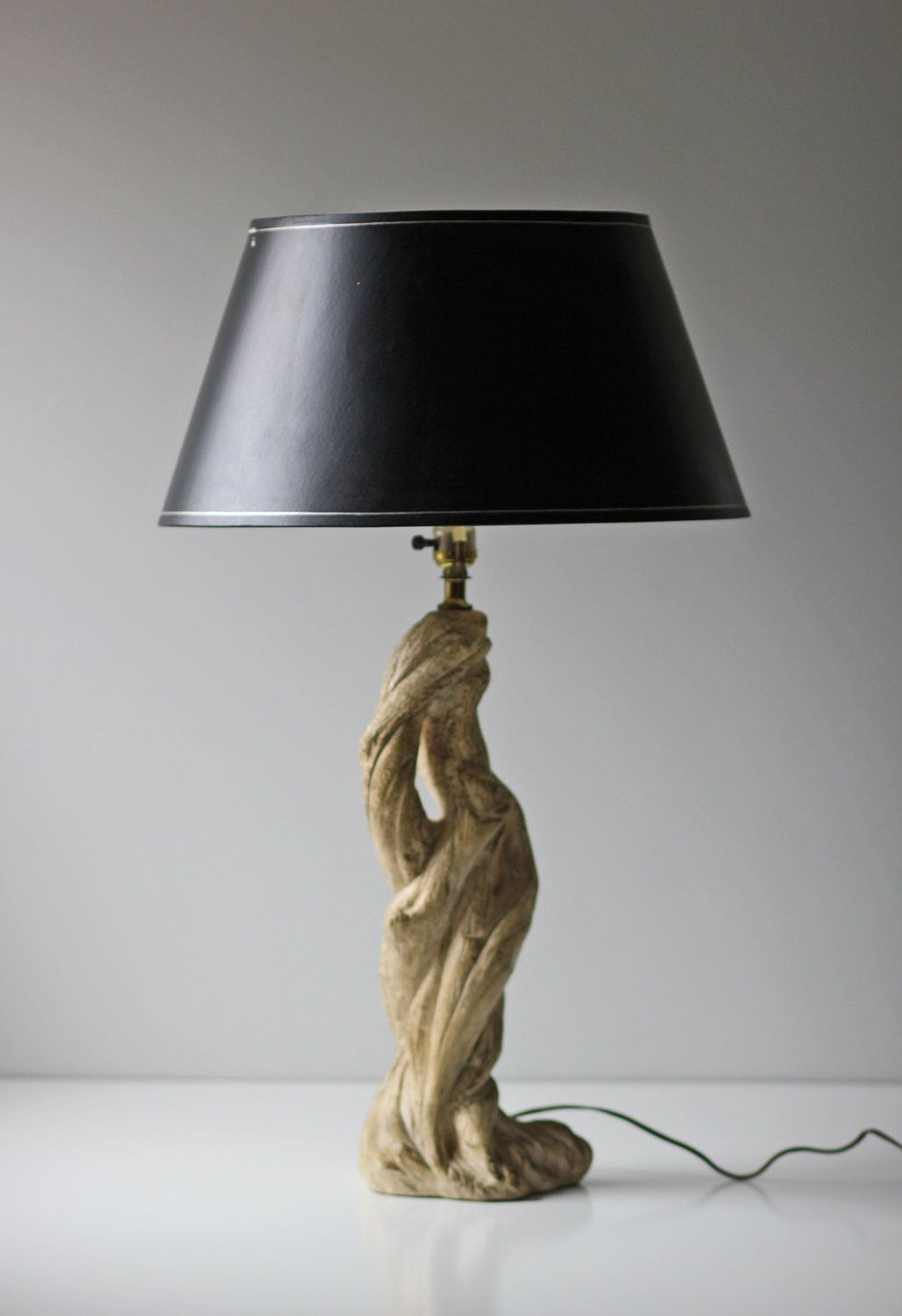 White Tree Branch Table Lamp Unique Vintage Chalkware Lamp Small Desk Lamp Lamp Lamps For Sale