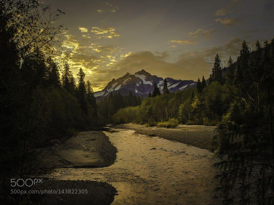Hannegan Pass Sunrise by clementstevens #landscape #travel