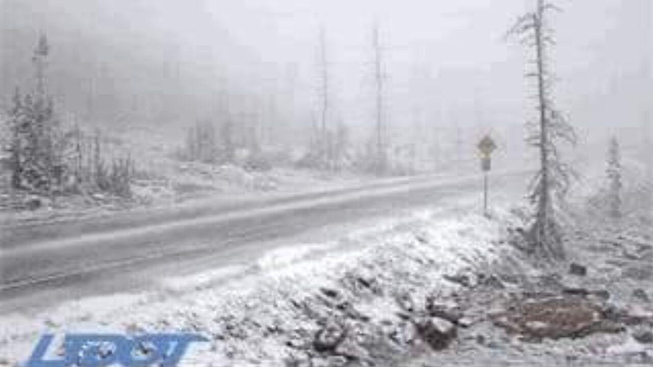 First snow of season falls in Utah, Wyoming as mountain