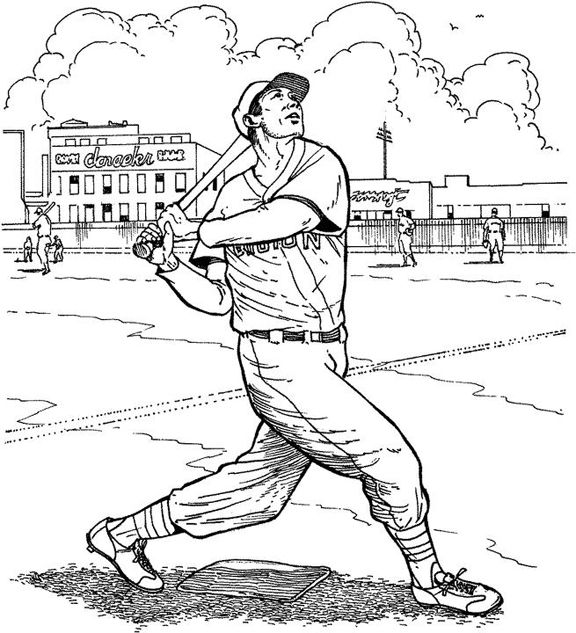 Boston Red Sox Batter Baseball Coloring Page Baseball Coloring Pages Coloring Pages Sports Drawings