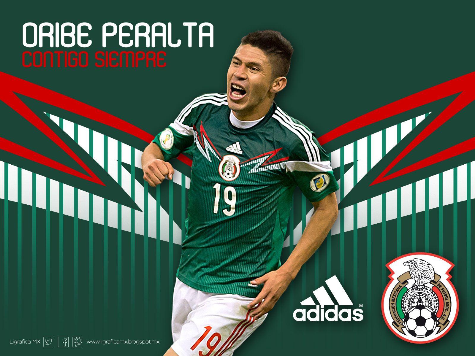 12de6470c ... 2014 FIFA World OribePeralta Selección Mexicana ¡Contigo Siempre!  Selección 2017 2018 WOMENS LIGA MX Mexico Club America Soccer Jerseys Home  Away ...