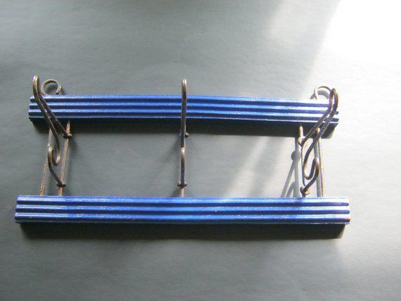 Vintage Kleiderhaken,Metal /Holz,ca.30 cm lang und 14 cm