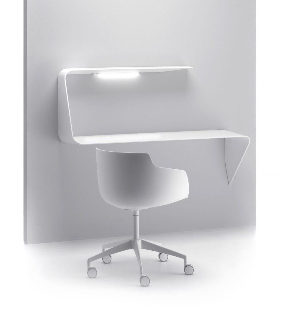 modern computer desks  white modern desk  home decor  pinterest  - cristalplant® secretary desk mamba by mdf italia design victor vasilev