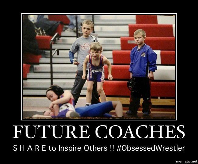 Funny Coach Memes: Future Wrestling Coaches @WrestlingIsLife #TinCanApparel