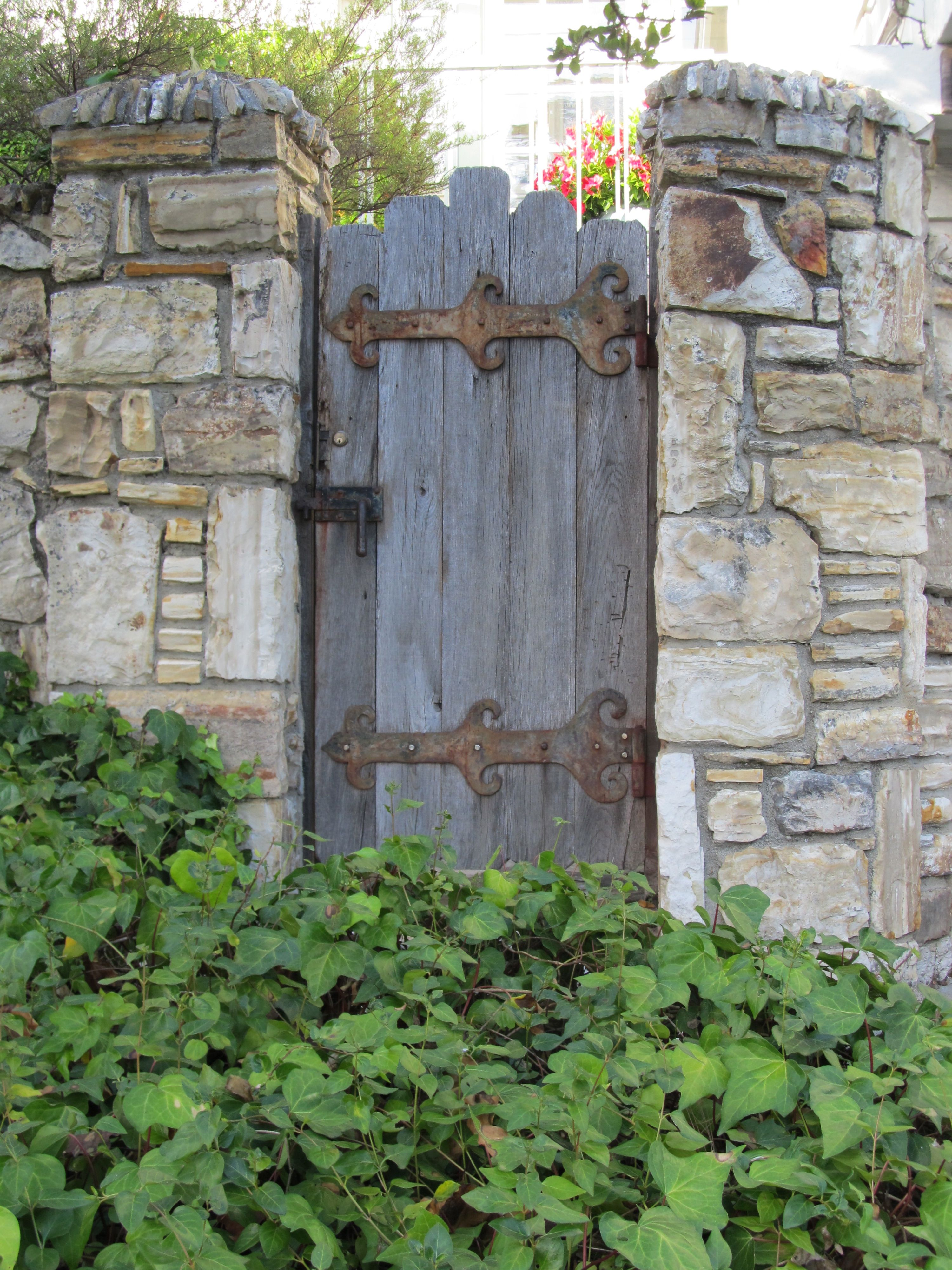 Stone Fence Pillars : Old gate with stone pillars outside pinterest