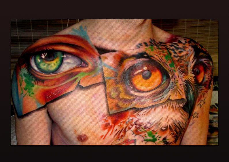 As 25 melhores ideias de Owl feather tattoos no Pinterest ...