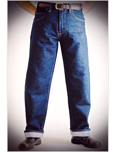 23701dd0 50s Cut Classic Jeans - Relaxed fit Prison Blues | AMERICAN STYLE II ...
