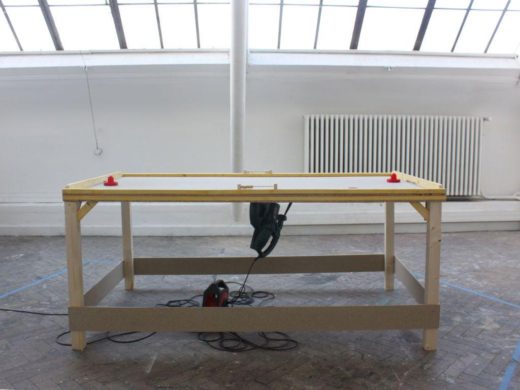 Diy Air Hockey Table Air Hockey Table Air Table Air Hockey