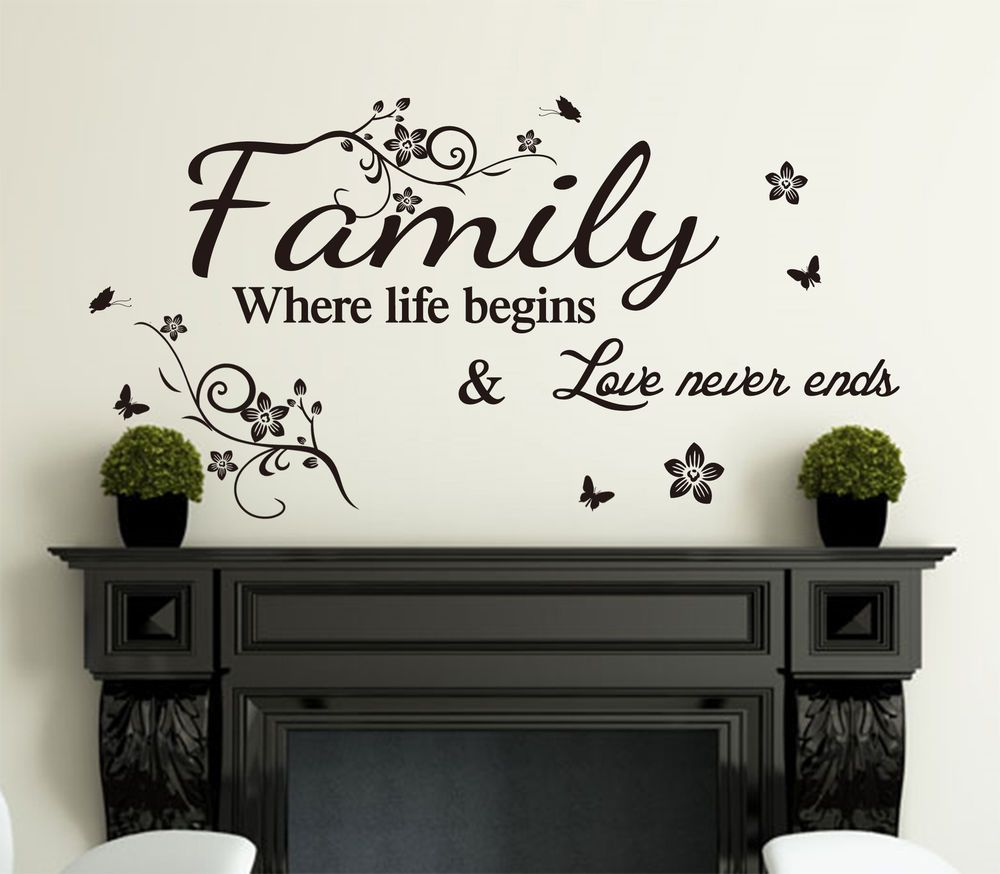 Wall Decor With Sayings