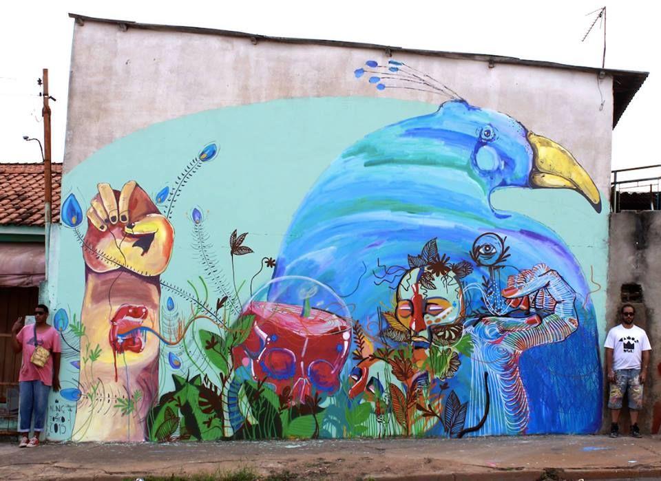 """Fernando Tosko & Diogenes Moura """"Simbiose Botânica 3"""" Limeira, Sao Paulo, Brazil, 2015"""