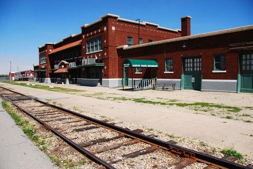 Frisco Train Depot In Hugo Frisco Railroad Towns Usa Train
