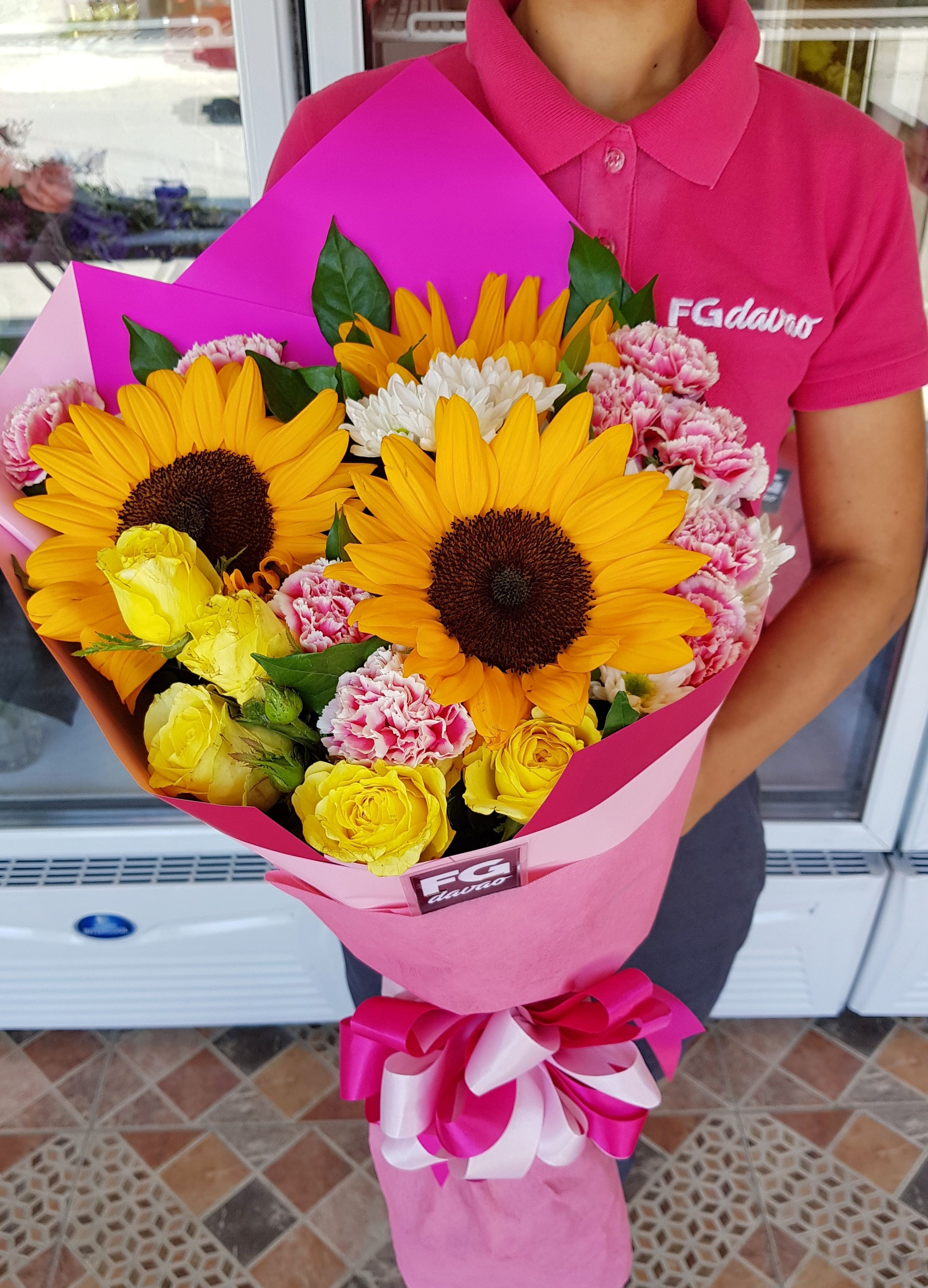Send Flowers To Davao City Philippines Www Fgdavao Com Price List Can Be Seen On Our Website Store Address Online Flower Shop Flower Quotes Flower Delivery