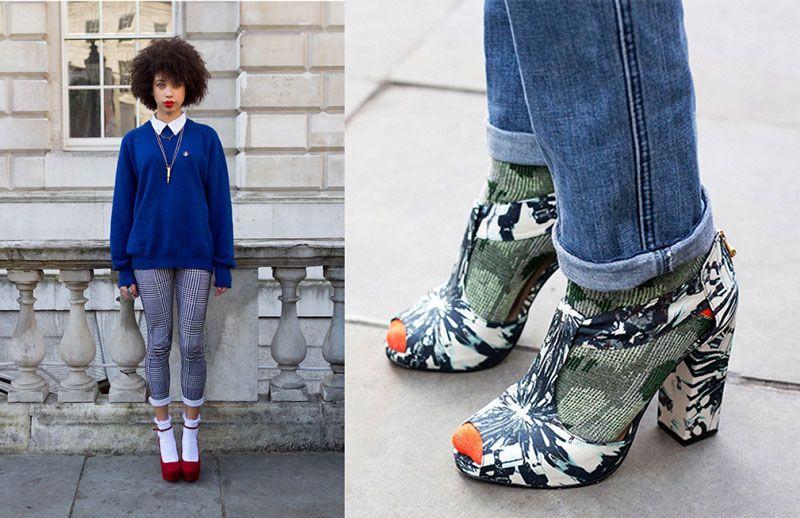 Calzini e tacchi, stivali e calzettoni: istruzioni per l'uso