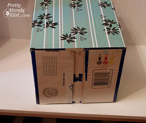 Create Your Own Decorative Bin Cardboard Painting Toy Rooms