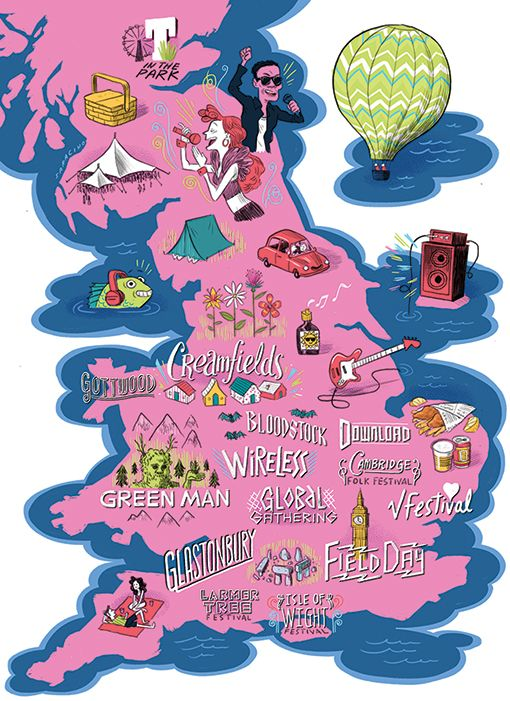 Map Of Uk Festivals.A Look At Britain S Festivals Where It Actually All Began In 2019