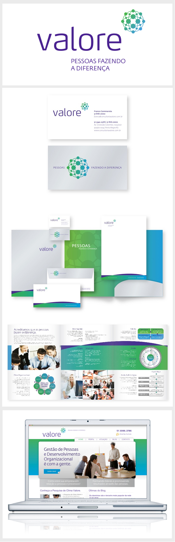 valore - Brand identity by Elementar Design