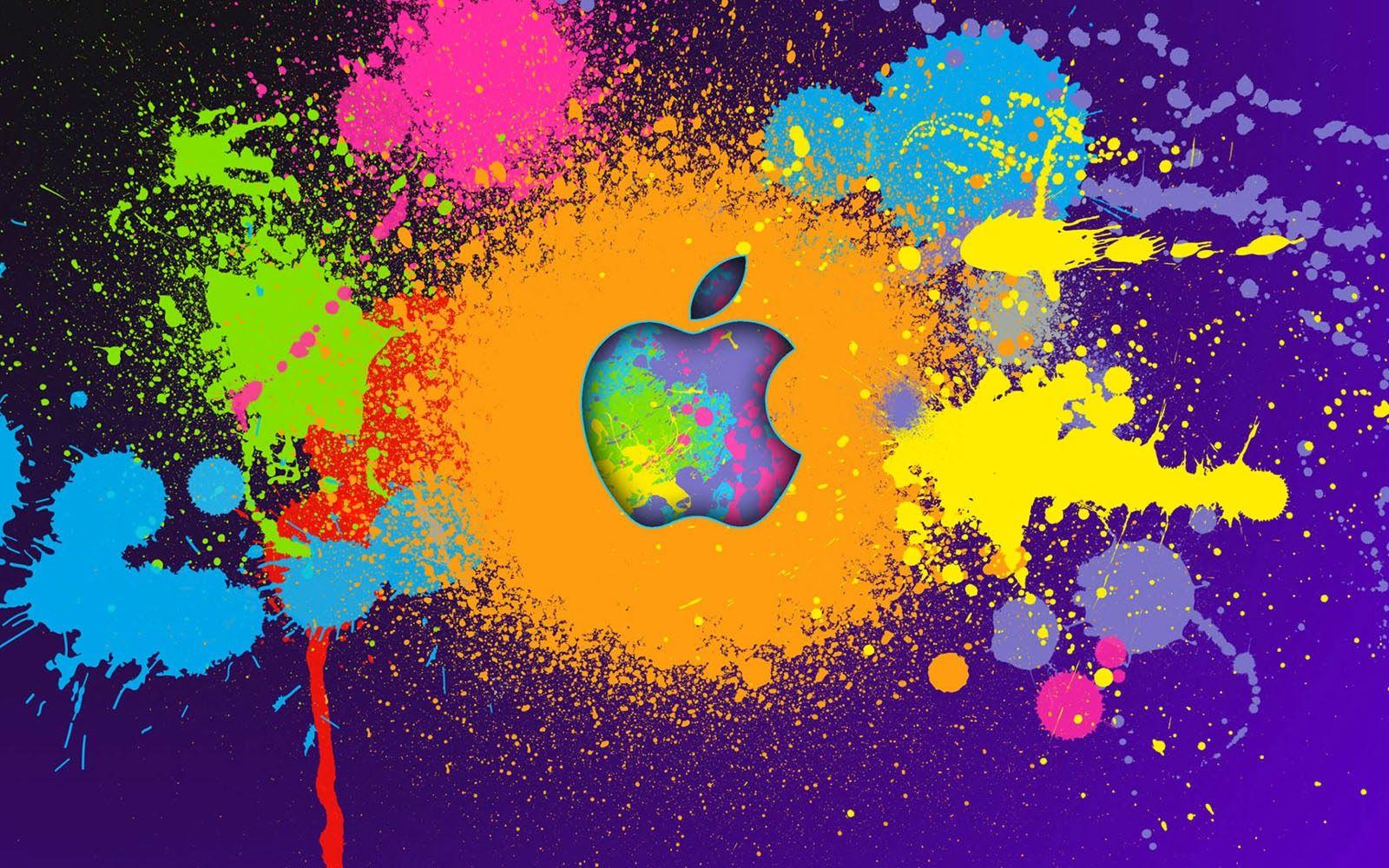 Apple Colors Wallpaper X
