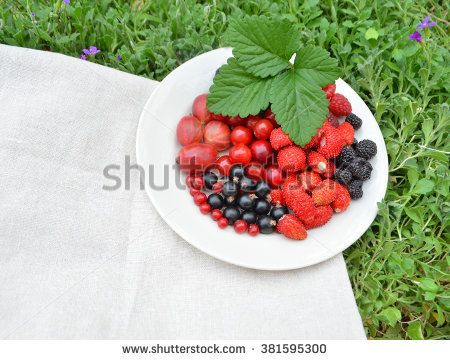 Plate Of Assortment Berries Raspberry Strawberry Blackberry Mulberry On The Grass Mixed Berry Fruits Berry Fruit Berries Raspberry