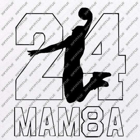 Black MambaKobe Bryant Svg Los Angeles Lakers Svg