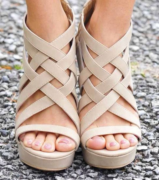 318a02dbb Gorgeous nude strappy sandals