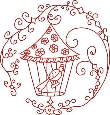 Rw Bird Cage C1sro3cdqag Kh Free Embroidery Designs Cute
