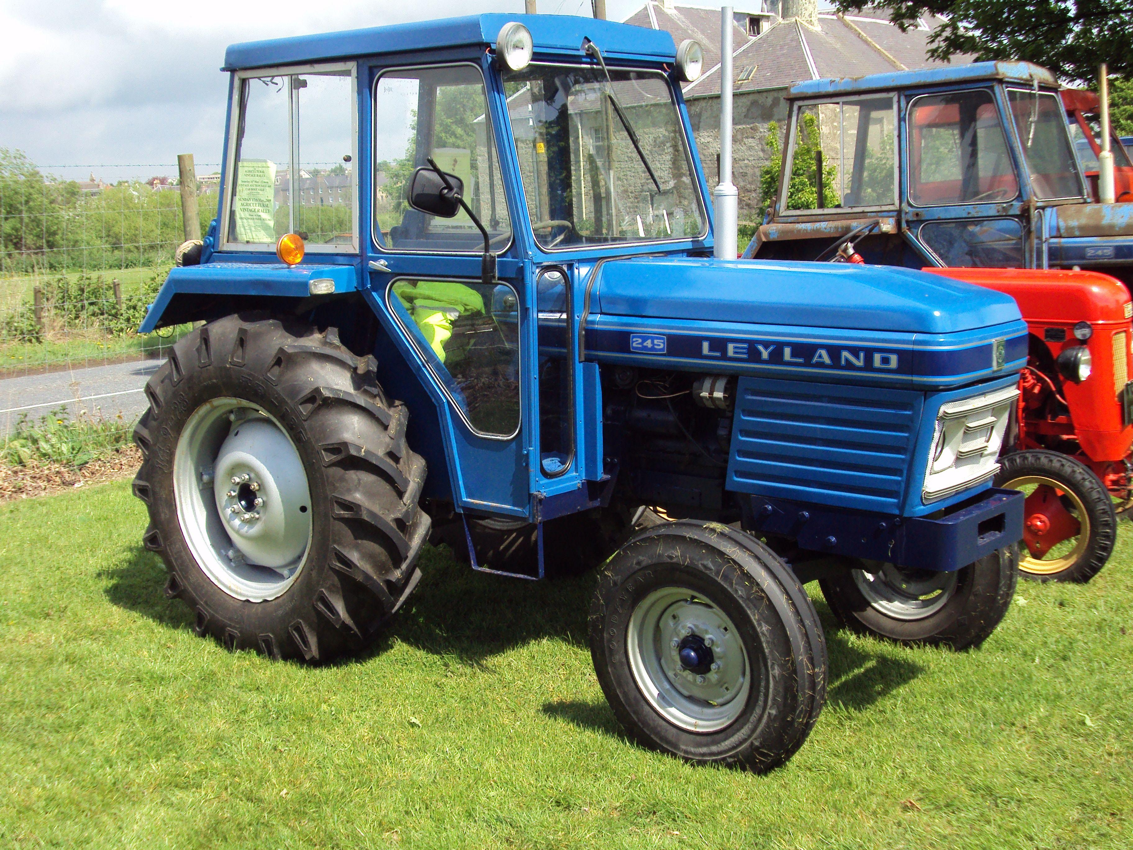 Leyland Tractor 154 Service Manual