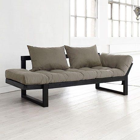 Edge Sofa Black Beige By Karup Monoqi With Images Futon