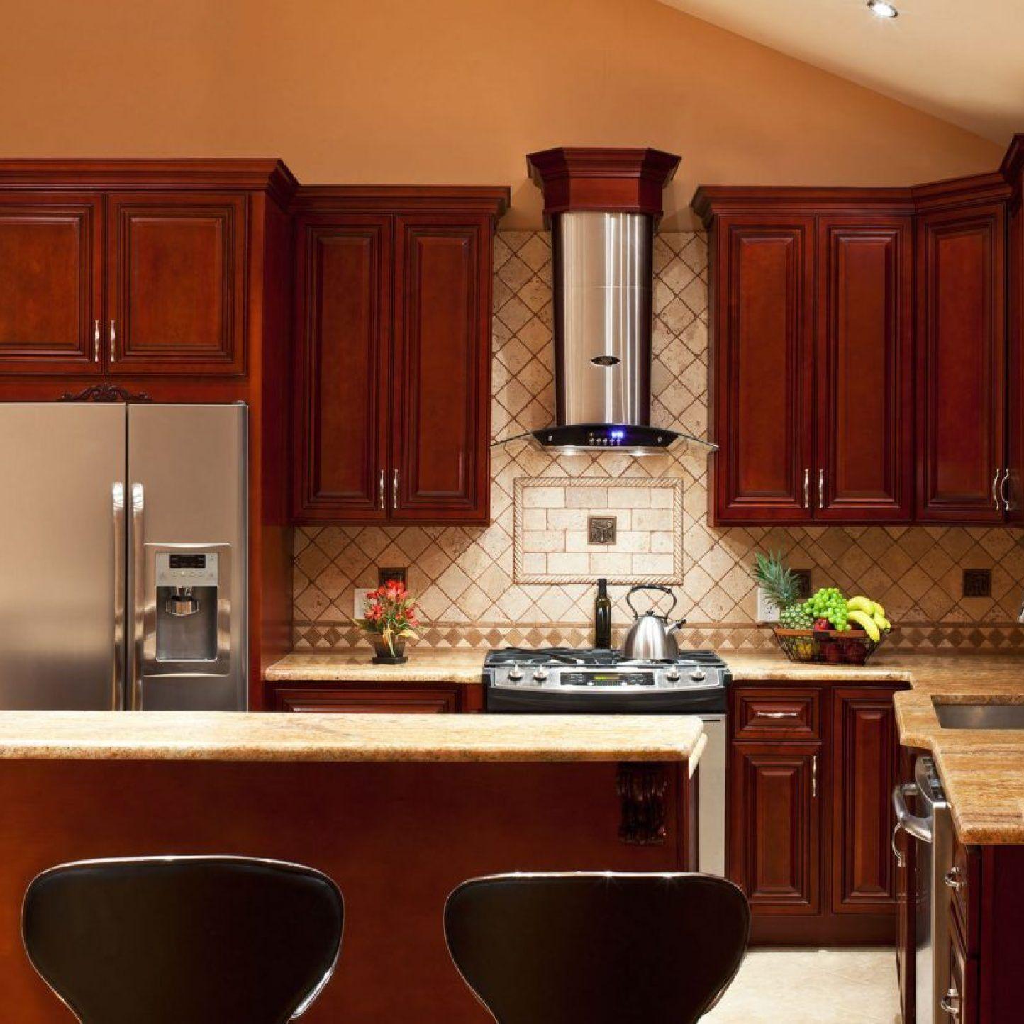 38 Buying Kitchen Backsplash With Dark Cabinets Light Granite