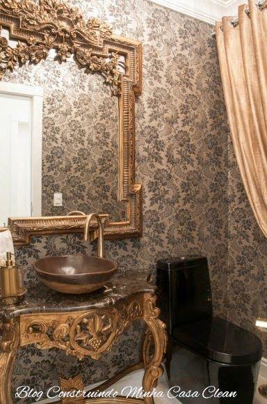 55 Lavabos De Luxo Pequenos E Sofisticados In 2019 Chateau Livin Lavabo Decora O