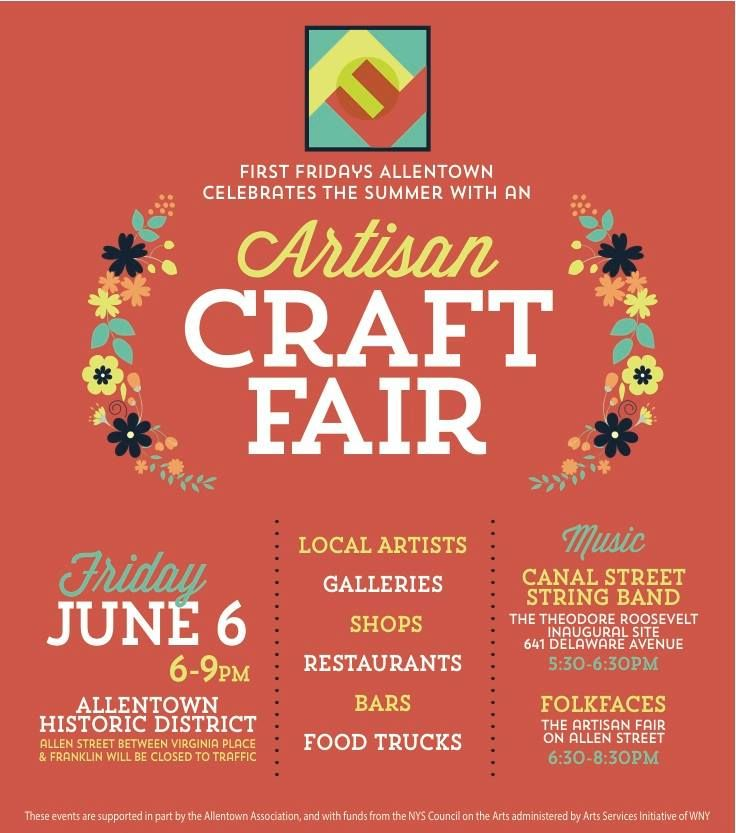 Artisan Craft Fair Flyer Flyers Craft Fairs Crafts Festival Flyer