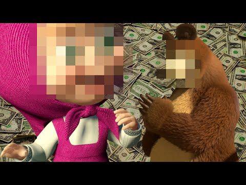 Маша и медведь занимаються сексом