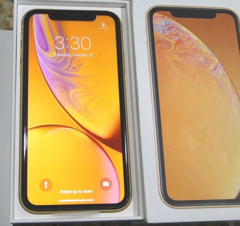 Brand New Iphone Xr 256gb Yellow Unlocked Verizon At T T Mobile