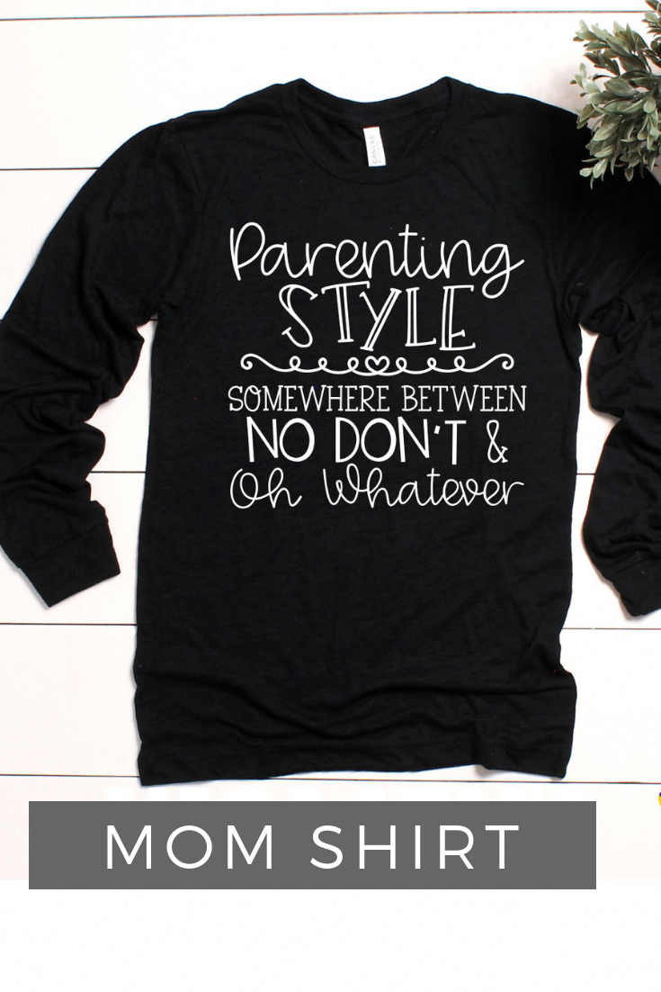 e26fb3641 Mom Shirt / Shirts for Women with Sayings / Funny Shirts for Moms / Mom  Life / Gifts for Mom / Birthday Gifts for Mom