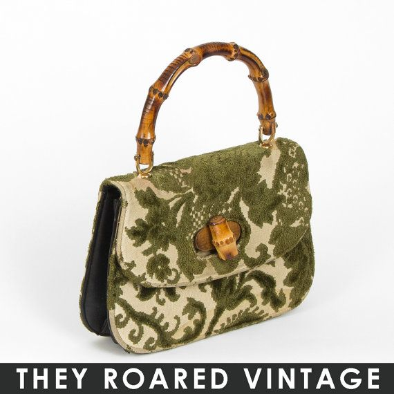 1950's tapestry purse