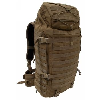 Tactical Tailor - Extended Range Operator Pack -- The large main compartment is lined with six additional pockets for organization of smaller items as well as a full length heavy duty zipper that can allow the pack to be accessed from the top or from the side like a duffle bag. The top of the bag includes a smaller storage pocket for items you need to access quickly with external bungee system to secure lightweight clothing articles.