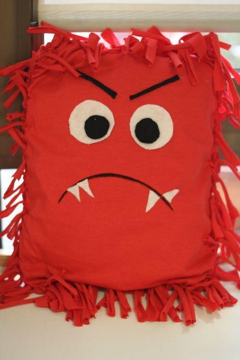 [DIY] Coussin de la colère inspiré de « La couleur des émotions.